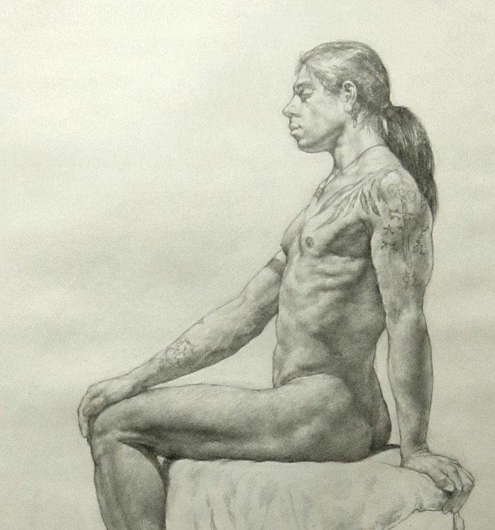 Raven seated.1