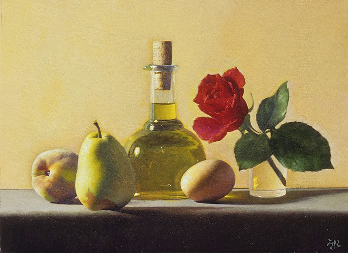 Rose and olive oil